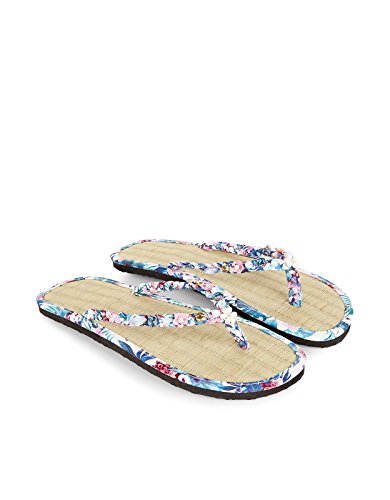 Monsoon Tropische Party-Flip-Flops aus Seegras Bunt