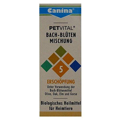 Bild: Canina Pharma Petvital Bachblüten Nr 5  Erschöpfung 2 x 10g