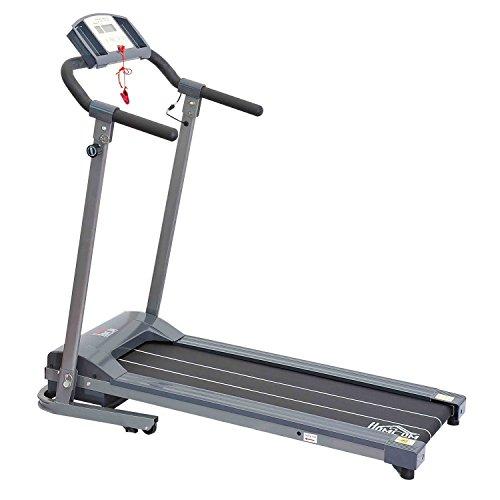 Homcom-Tapis roulant elettrico con display LED home trainer per il fitness da 500 W - Attrezzature Per Il Fitness Allenamento Tapis Roulant