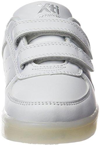 Xti Zapato Niño. C. Blanco-plata ., Sneakers basses garçon BLANCO-PLATA