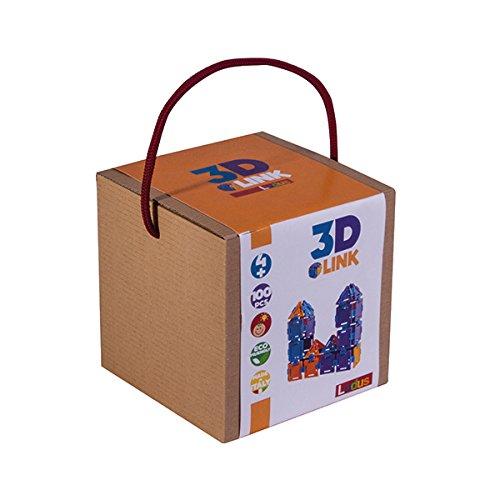 ludus-22126-3d-link-collegare-giocattoli-100-parti