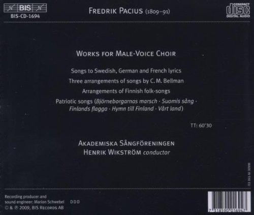 Pacius Choral Music