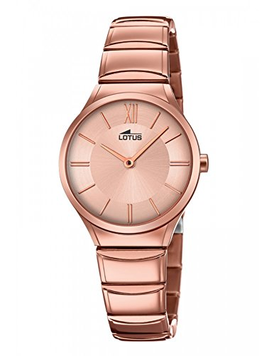 Lotus Minimalist 18490/2 Wristwatch for women Design Highlight