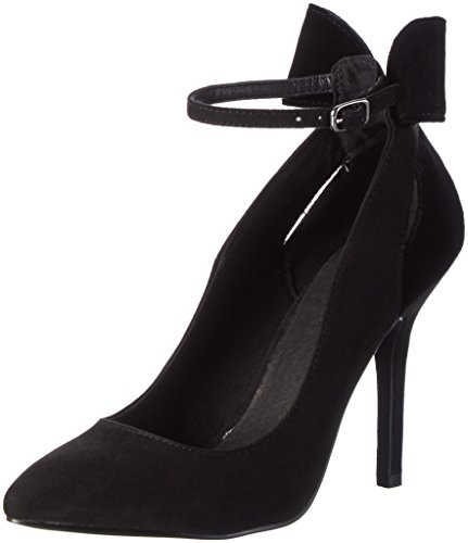 Bianco Damen Bow Party Pump 35-49024 Pumps Schwarz (Black/10)