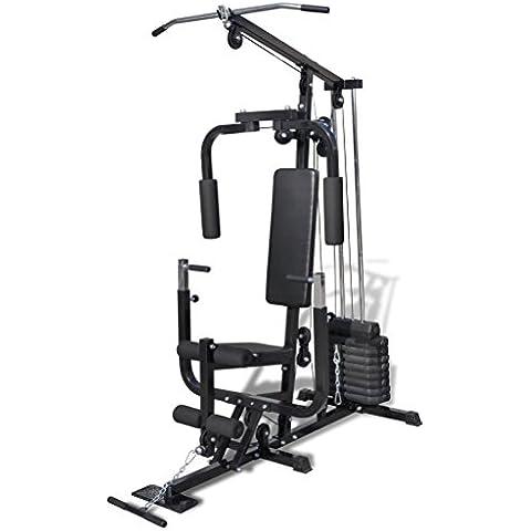 vidaXL Multi Utilidad de gimnasio Fitness máquina
