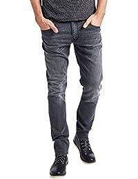 Mish Mash Mens Jeans UFO Grey Slim Tapered Fit Streach RRP £70