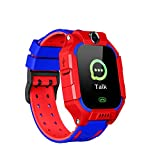 Fornorm waterdichte smartwatch, 2G simkaart GPS tracker SOS anti-lost-horloge voor kinderen, smart hand band tracker