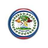 Belice : Bandera Nacional, Pinback Button Badge 1.50 Inch (38mm)