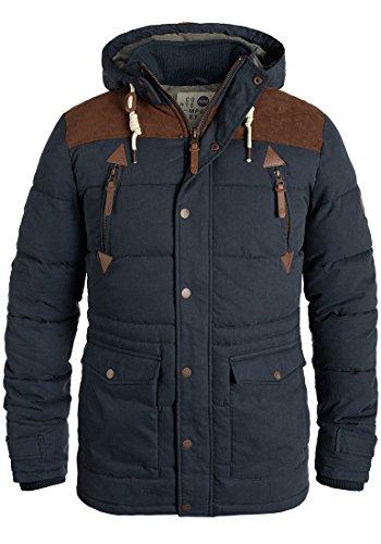 SOLID Dry Jacket Long - Giacca invernale da Uomo, taglia:L;colore:Insignia Blue (1991)