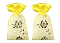 Miracle Perfume Potli. Lemon Lime Fragrance. Air Freshener (50g, Set of 2pcs)