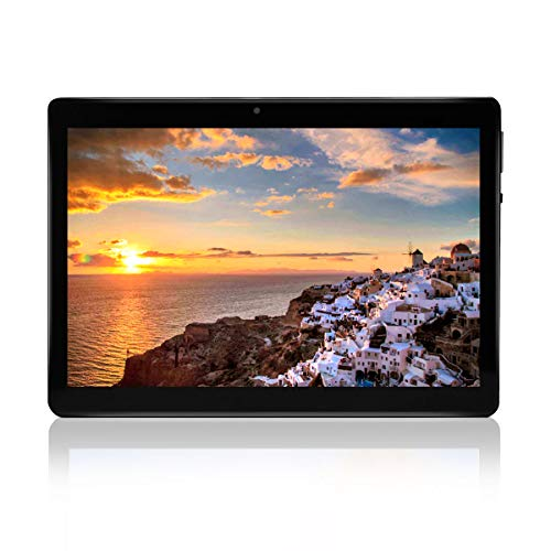 """tablet con usb Tablet Android 8.0 Schermo da 10"""" Processore quad-core RAM 2GB ROM 32 GB Fotocamera WIFI GPS Due slot per schede SIM Tablet Cellulare con 3G sbloccato (nero)"""