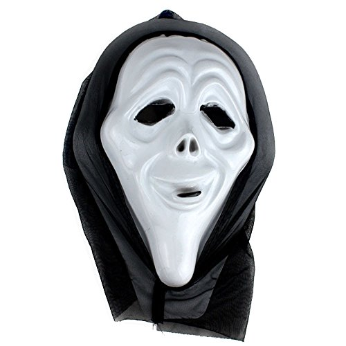 OverDose Damen Halloween lustige Vielfalt Phantasie Ball Maske Clubbing Party Cosplay Tanz Rave für Festival Horror wesentliche Geschenk (Lustige Für Selbstgemachte Ideen Halloween-kostüme)