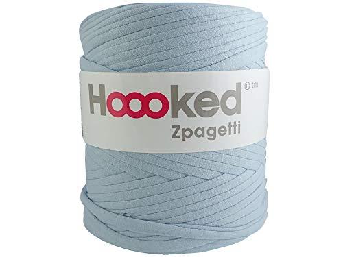 Hoooked Zpagetti T-Shirt-Garn, Baumwolle, 120 m, 700 g, Hellblau -
