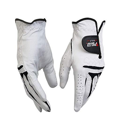 JSX Golfhandschuh-Griffpaar für Herren, beide Hände, 2er-Pack, Linke und rechte Hand, synthetischer Allwetter-Golfhandschuh - Wählen Sie Größe und Geschicklichkeit,23