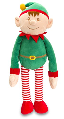 Fancy Classic Collection Christmas ELF with Dangly Legs by Keel Toys – large ELF – New Arrival 41tf3DKw9XL