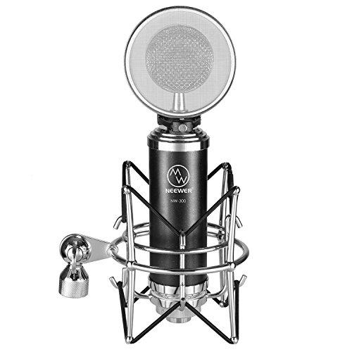 Neewer Kit de micrófono de NW-500, incluye: (1) Micrófono de condens