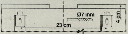 Spülkasten OMEGA (3 - 7,5 Liter) inkl. Montagezubehör