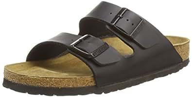 Birkenstock Arizona, Unisex - Adults Sandals, Black (SCHWARZ), 4.5 UK (37 EU)