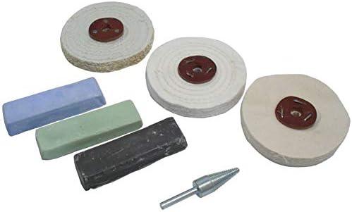 Capricornleo bilancio Kit per lucidatura lucidatura lucidatura Grossa Media e fine Mops 10,2 cm POL03 | Produzione qualificata  | moderno  | Prima classe nella sua classe  30db37