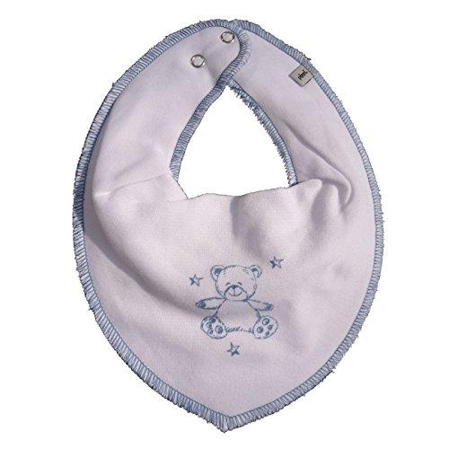 Pippi Baby Dreieckstuch Halstuch Lätzchen in verschiedenen Designs (Bär auf weiß)