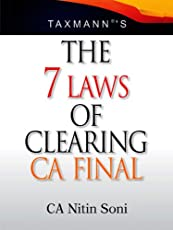 Taxmann The 7 laws of Clearing CA Final