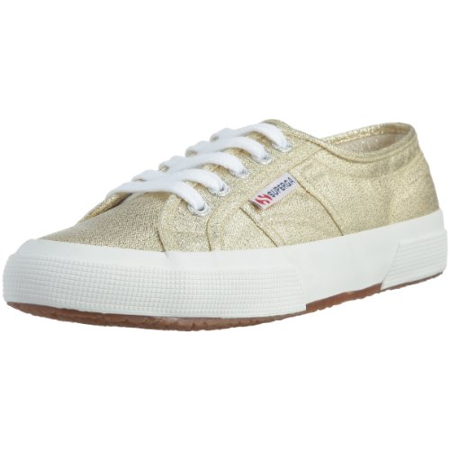 Superga Damen 2750 Lamew Sneakers, Gold (174), Gr. 38