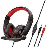 Bequeme Rauschunterdrückung 3,5 Mm Klinkenstecker, Game-Headset Für Ps4, Mit Mikrofon, Bass-Surround-Sound - Schwarz Kopfhörer