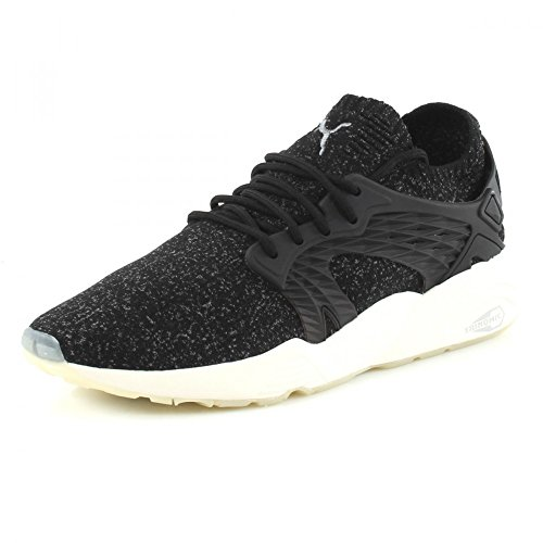 Puma Blaze Cage evoKNIT, puma black-steel gray-whisper white Black