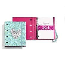 Agatha Ruiz de la Prada 20865 - Carpeta bloc notebook piel lentejuelas (DIN A4,