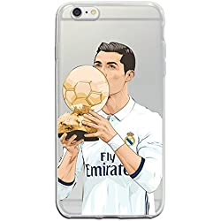 Funda iPhone 6/6S Fútbol - Cristiano Ronaldo - CR7 - Real Madrid - Ballon d'or