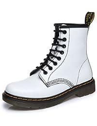 uBeauty - Bottes Femme - Martin Bottes - Boots Flattie Sport - Chaussures Classiques - Bottines À Lacets