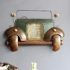 Kraft & Kulture Vintage Jeep Car Décor/Metal Wall Art