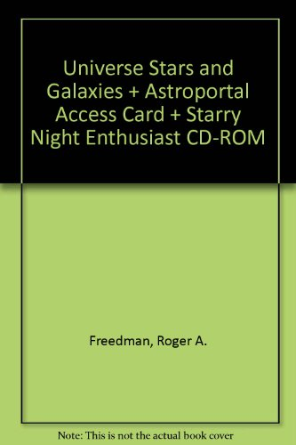 Universe Stars and Galaxies + Astroportal Access Card + Starry Night Enthusiast CD-ROM