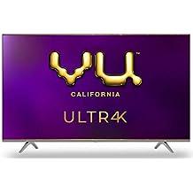 Vu 139 cm (55 inches) 4K Ultra HD Smart Android LED TV | With 5-Hotkeys 55UT (Black) (2020 Model)