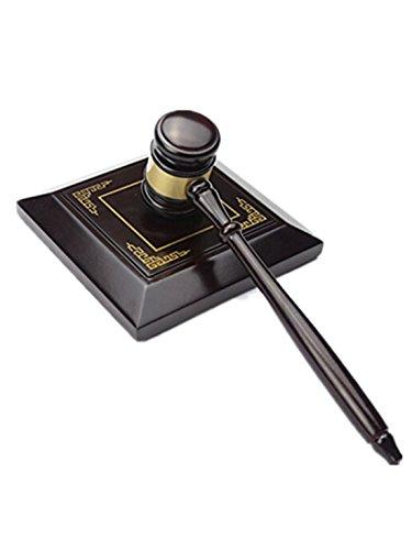 SMO HOLZ Handcrafted Holz Gavel Block Soundtrack für den Richter Anwalt Auktion, SMO-109