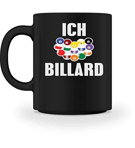 Chorchester Ich liebe Billard - Tasse