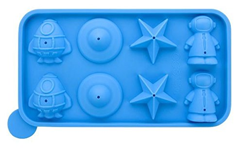 Silicone Space Star Cake Pop Mould Lollipop Tray Party Kids Children Sweets Candy Cookware Baking Sticks Birthday Blue