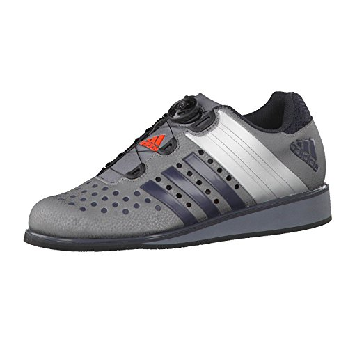 adidas Drehkraft Unisex Weightlifting Shoe, Grey, UK11.5