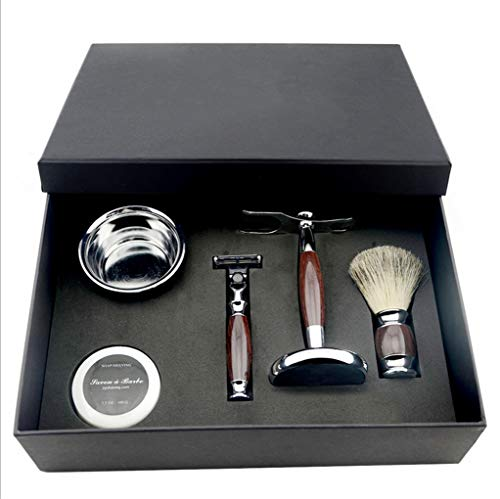 Juego maquinillas afeitar seguridad clásico herramientas