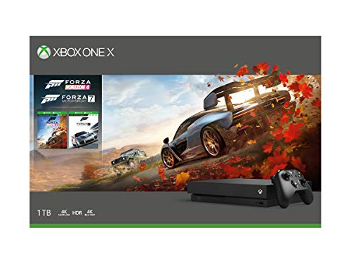 Microsoft 1TB Xbox One X Console (Free Games: Forza Horizon...