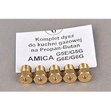 Inyector Gas Butano GLP Cocina a Gas AMICA G5E / G5G II