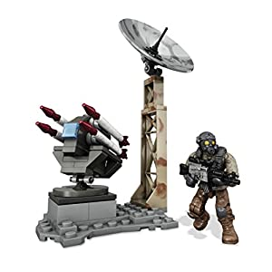 Call of Duty Mega Bloks Collector Construction Sets Rocket Turret (Cng74)