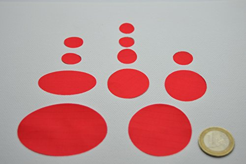 Kit de réparation de doudoune - Couleur : Rouge