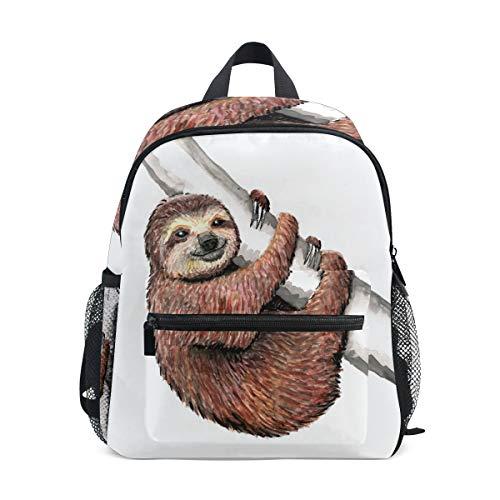 BENNIGIRY Faultier Kinderrucksack Schulbuch Tasche für Kleinkinder Jungen Mädchen (Verkauf Faultier Preis Für)