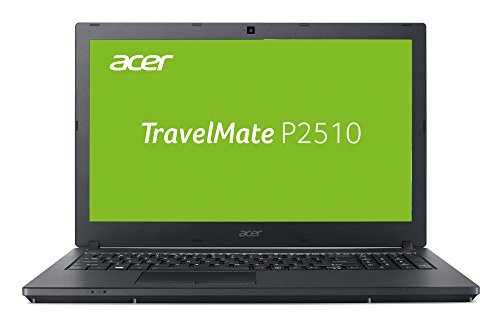 Acer TravelMate P2510 TMP2510-M-542K 39,6 cm (15,6 Zoll Full-HD IPS matt) Notebook (Intel Core i5-7200U, 8GB RAM, 256GB SSD, Intel HD, Win 10 Pro) schwarz