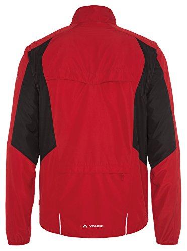 VAUDE Herren Jacke Dundee Classic Zip Off Jacket Red