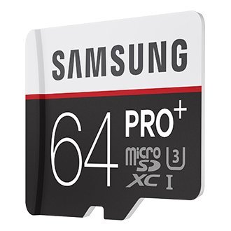 High Quality Pro Plus 64GB Micro SDXC Class 10 Memory Card 95MB/s Read, 90MB/s Write with Adapter