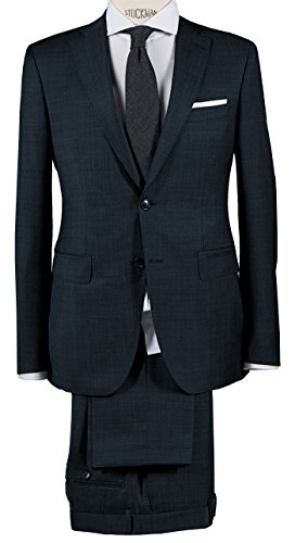 Michaelax-Fashion-Trade - Costume - Uni - Manches Longues - Homme Bleu