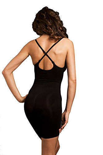 BODY WRAP Damen Formender Body Schwarz ...