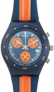 Swatch YMN4000 - Reloj de mujer de cuarzo, correa de piel color varios colores de Swatch